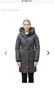 Nobis Astrid Coat size XS in Black