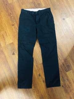 Club Monaco Men's Size 31/32 Dark Blue Pants