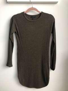 Topshop Long Sleeve Tunic Size 2 XS