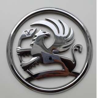 12cm Vauxhall car badge
