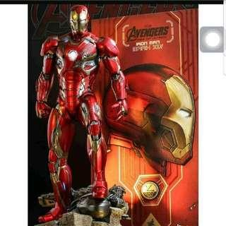 Hot Toys Mark 45 1/4 scale Iron Man Normal Ed