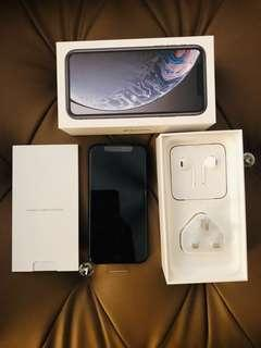 Never used Iphone XR 128GB black - MY