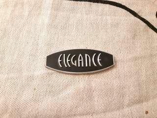 "62mm ""Elegance"" Car Emblem"