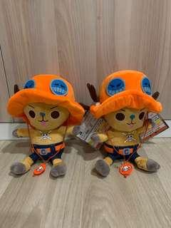 One piece chopper kuji soft toy