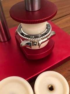 Seiko Crystal and Chapter Ring Modding