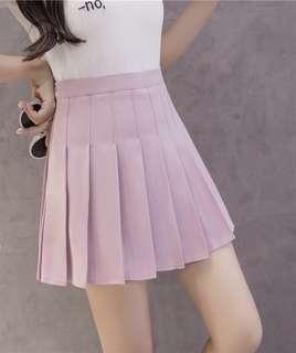 PINK Tennis Skirt HW