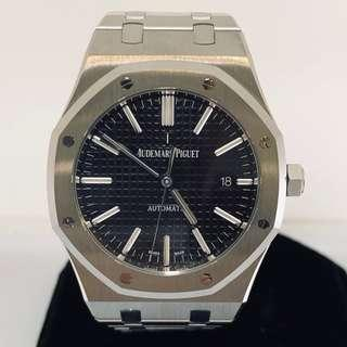 AP Royal Oak 15400 Black Dial (2018 Set)
