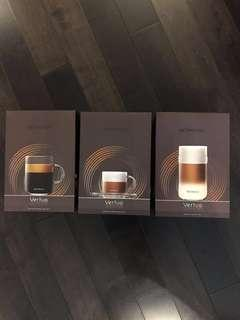 BRAND NEW NESPRESSO VERTUO CUP SETS