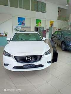 All new Mazda6 sedan special price and big disc ..promo terbaik awal tahun habiskan stock unit 2017