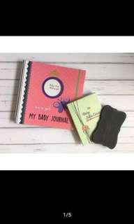 BABY JOURNAL (GIRL) BUKU DIARY BAYI