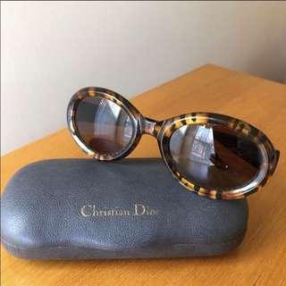 美國二手Boutique Vintage Dior 虎紋太陽眼鏡
