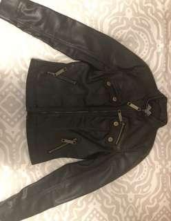 Genuine leather jacket - $150 originally