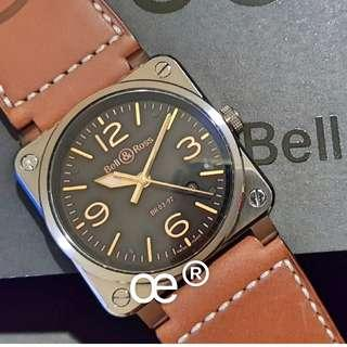 #CNY888 PROMO Bell & Ross BR03-92-S Golden Heritage 42mm Automatic