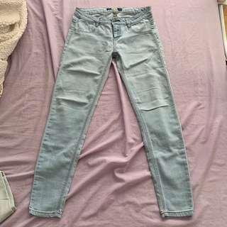 Pull & Bear Acid Wash Jeans