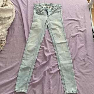 H&M Acid Wash Jeans