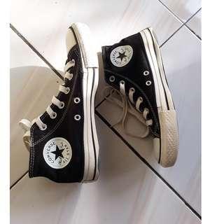#maups4 Original Hi Converse Black white