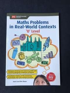 Maths Problems in Real World contexts o levels