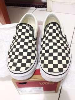 Vans checkerboard original baru 3bln