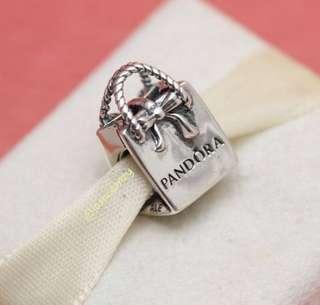 Pandora Bow Bag Charm