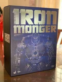 Hot Toys Iron Monger Iron Man 1/6 Scale MMS164 Limited Edition