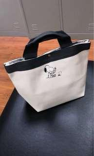 Snoopy small tote bag