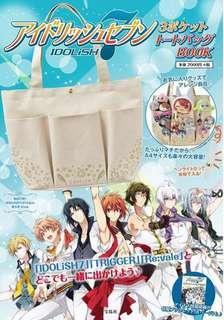 Anime idolish 7 tote bag