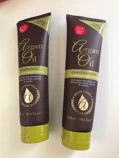 Argon oil shampoo and conditioner
