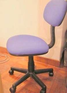【MEX】油壓 藍色 布面 desk chair 寫字枱 辦公室 書桌 櫈 椅 原價$299 Aeon Jusco 買