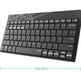 Rapoo bluetooth and 2.4G Multi-devices Keyboard