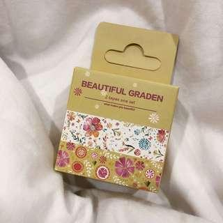 Floral Washi Tape in a Box