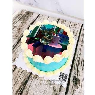 Customized Edible Printing Cake