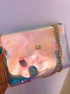 🚚 CHEAP HOLOGRAPHIC SLING BAG