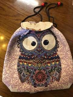 Batik Owl Bag
