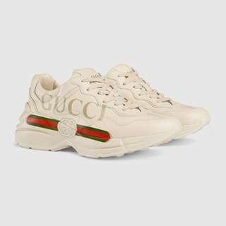 LNIB Gucci Rhython Sneakers
