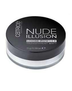 #APR10 Catrice nude illusion translucent matte loose powder