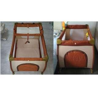 [REASONABLE NEGOTIATE ALLOW] Playpen Type and stainless steel Material folding baby playpen playard