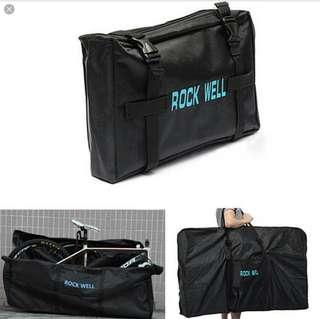 Heavy Duty Bicycle Travel Bag - Transport Case for Mountain, Road, Folding Bicycle Luggage