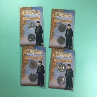 Harry Potter Collectible Coins