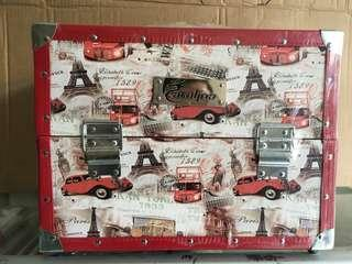 Beauty case Kotak makeup motif gambar