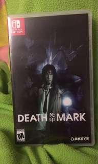 Nintendo switch rare death mark