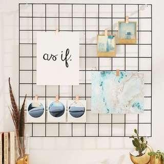 Photo Display Wire Grid