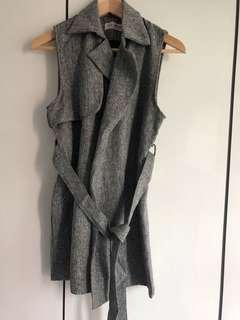 Think About(From Korea)Grey Blouse