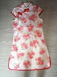 Brand new flower cheongsam qipao dress