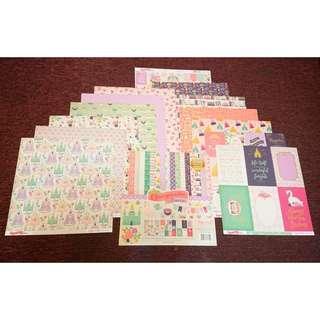 🚚 12×12 美術紙卡
