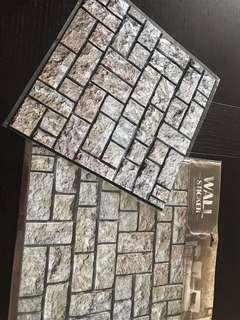 BN wall deco 3D sticker set of 2