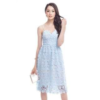 *CNY 50% OFF SALE* BNWT The Closet Lover Crochet Enchantment Dress