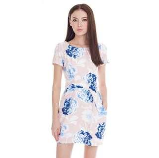 *CNY 50% OFF SALE* BNWT The Closet Lover Charlotte Floral Dress