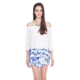 *CNY 50% OFF SALE* BNWT The Closet Lover Phillis Printed Skirt