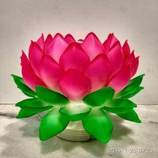 Handcrafted Lotus Lamp LB-8787