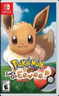 Lets Go Pokemon Eevee